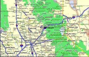 map of grass valley