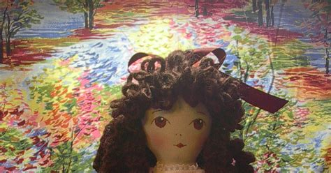 by hook by hand prairie flowers an original cloth doll by hook by hand more prairie flower finery