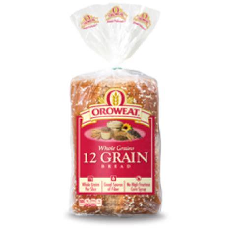 whole grains 12 grain bread oroweat 12 grain bread