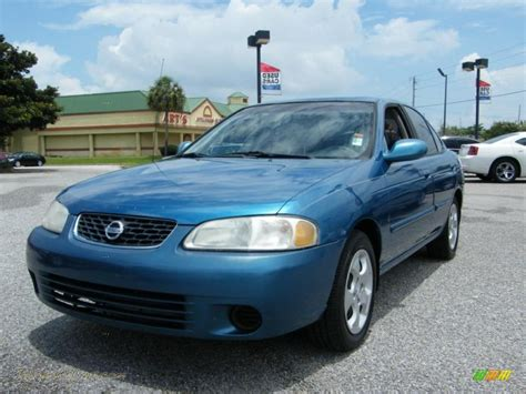 2003 nissan sentra for sale 2003 nissan sentra gxe in vibrant blue metallic 813833