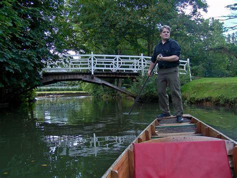 punt boat oxford punt oxford