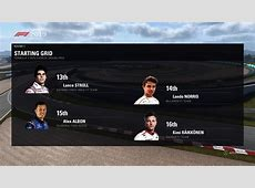 2019 Season Mod (Multiplayer test on Discord ... F1 Driver Numbers