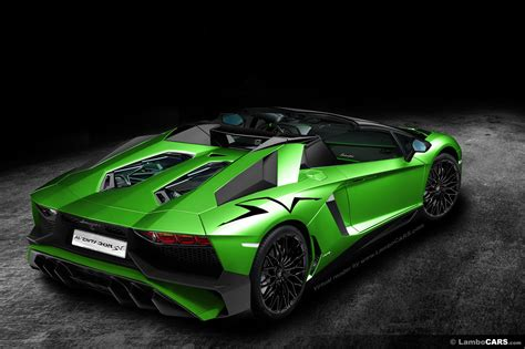 Production of the Aventador Superveloce Roadster confirmed