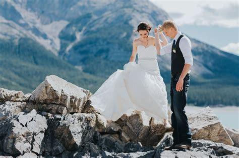 Abraham Lake Wedding Photography   Rebecca & Kenton