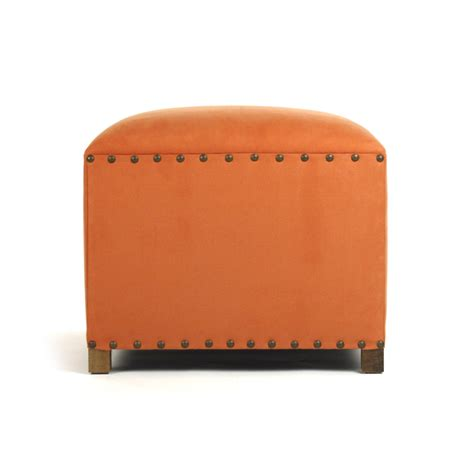 Orange Stool Color by Zentique Orange Nail Stool