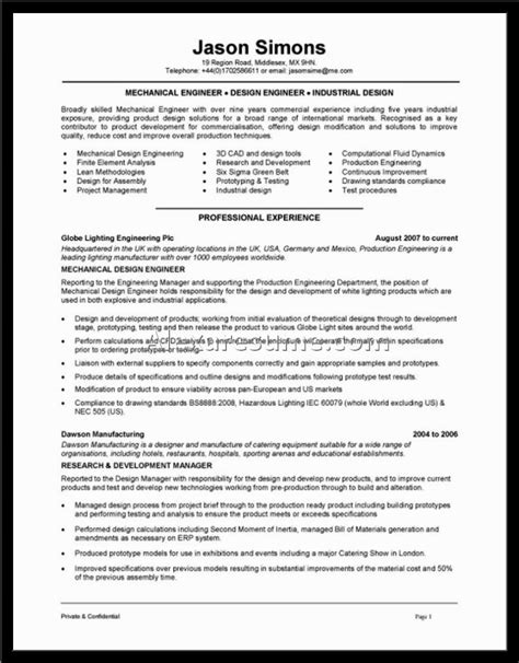 hvac resume sles document