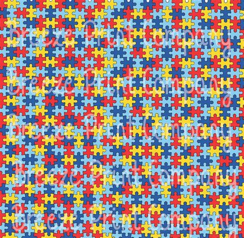 autism pattern vinyl puzzle pattern heat transfer or adhesive vinyl htv sheet