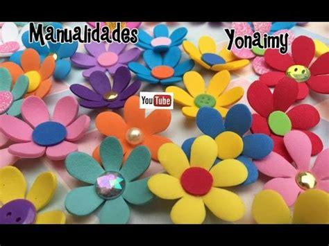 flores de foamy o goma eva planas o con termoformado fino flores de foamy o goma eva planas o con termoformado fino