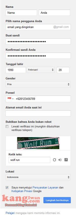 membuat gmail baru membuat gmail baru cara membuat email baru di gmail gratis dengan mudah