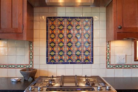 mexican tile backsplash tile design ideas