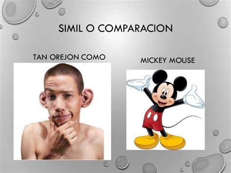 imagenes retoricas simil simil o comparacion