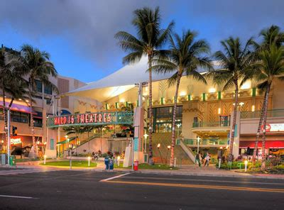 honolulu  renovation planned  consolidated theatres
