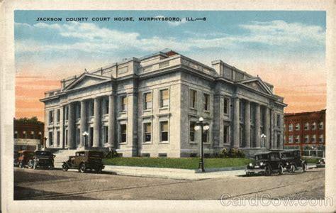 Jackson County Illinois Court Records Jackson County Court House Murphysboro Il Postcard