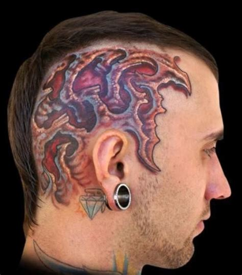 tattoo disasters extreme tattoos extreme tattoos on head