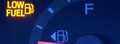 drive  volkswagen    fuel light turns