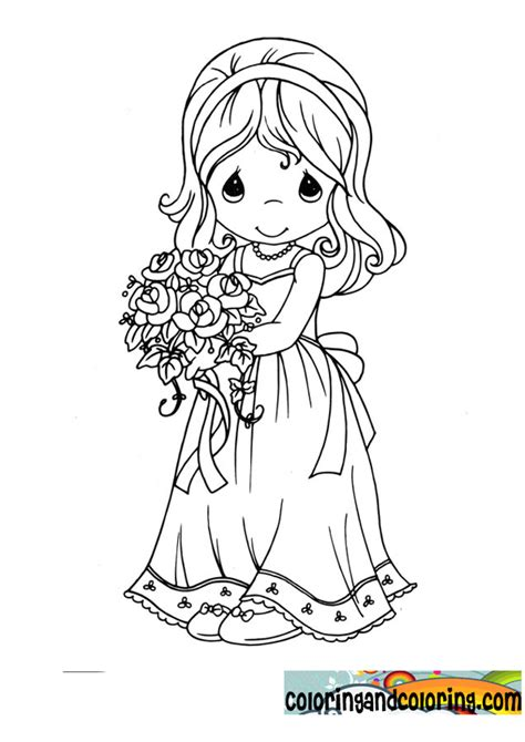 wedding coloring pages precious moments coloring pages