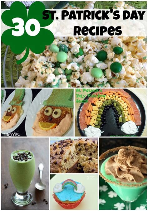 30 st patricks day recipes breakfast drinks breads and