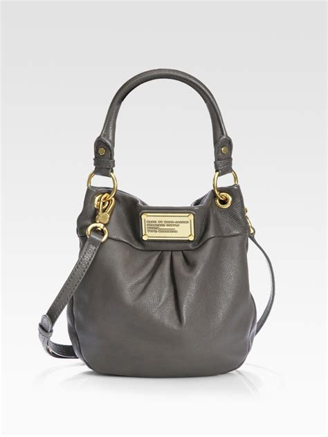 10 Coolest Marc Bags by Lyst Marc By Marc Classic Q Mini Hillier Hobo Bag