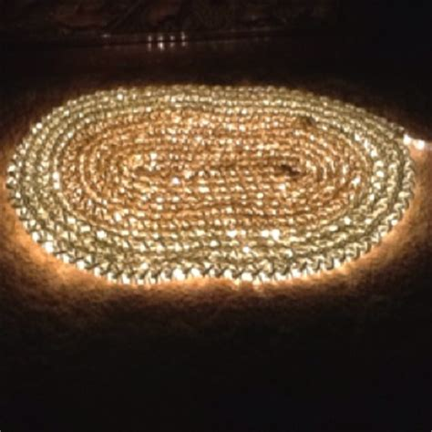 Rope Light Crochet Rug by 1000 Images About Crochet Rugs On Crocheting