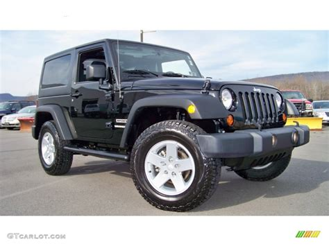 Black Jeep 4x4 Black 2012 Jeep Wrangler Sport S 4x4 Exterior Photo