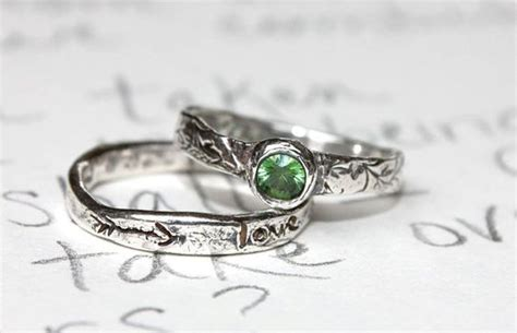 sapphire engagement ring conflict free green sapphire