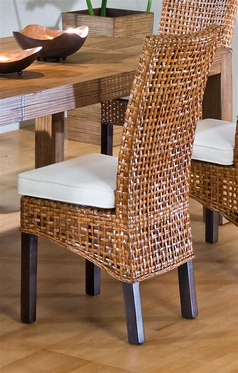 wicker dining room chairs new home design