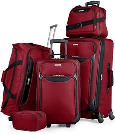 Luggage Set Tag Springfield Iii 5 Luggage Set In Or Blue