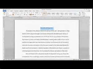 using headings and subheadings in apa formatting