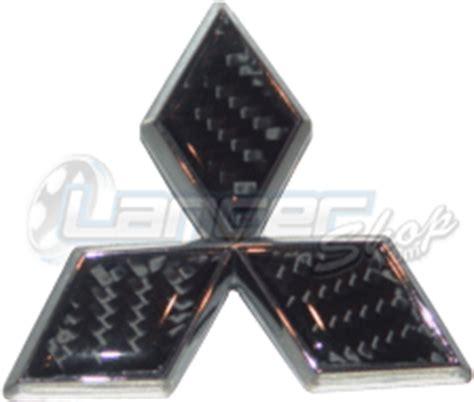 Emblem Racing Ralliart Chrome Blok carbon fiber mitsubishi emblem black and chrome rear evo 8 9 exterior parts evo