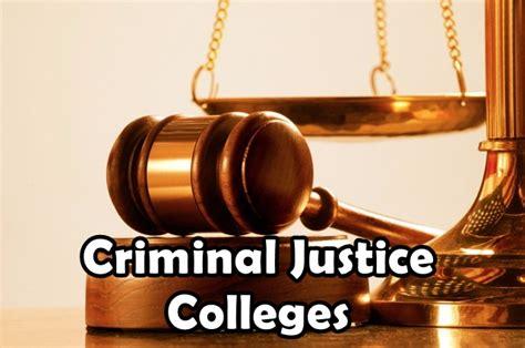 best criminal justice schools top criminal justice