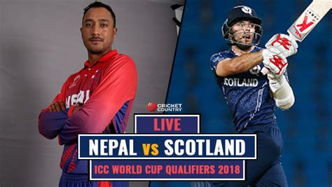 ire vs sco live score live cricket score nepal vs scotland icc world cup