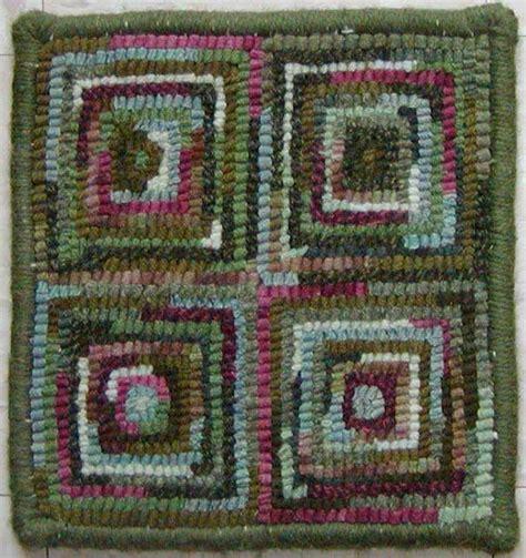 rug hooking beginners hooked rug gallery beginner square cindi rug hooking