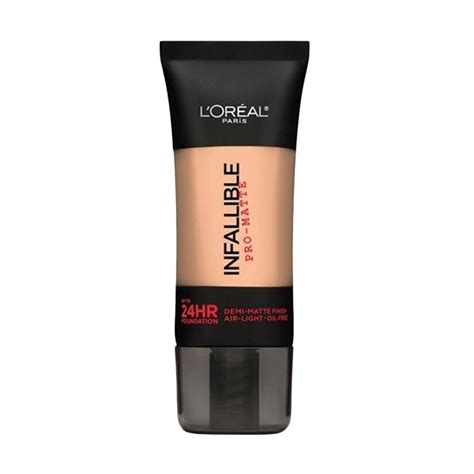 Harga L Oreal Infallible Matte Foundation jual l oreal infallible pro matte foundation 102 shell