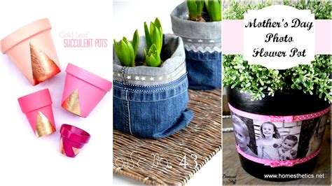 homemade flower pots invite spring in with fresh colorful new diy flower pots projects