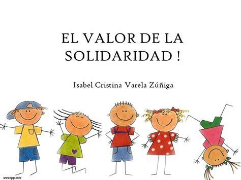 valor de la patente la importancia de la solidaridad definici 243 n del valor