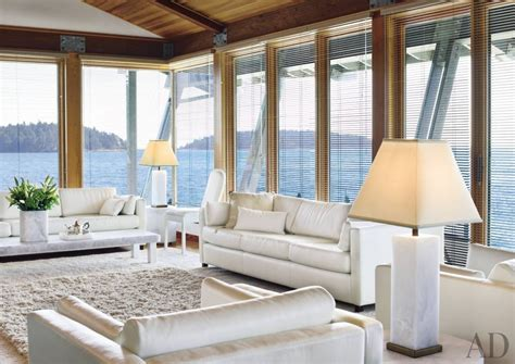 Coastal Themed Home Decor beach living room by martha sturdy ad designfile home