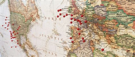 travel map pins the 10 stages of your best friends study abroad