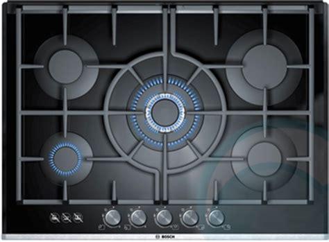 bosch glass gas cooktop bosch gas cooktop ppq726b90a appliances