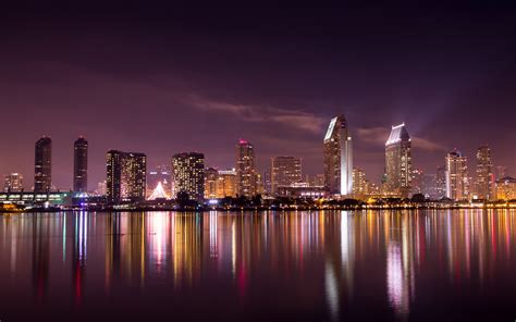 San Diego Skyline Wallpaper san diego skyline hd world 4k wallpapers images