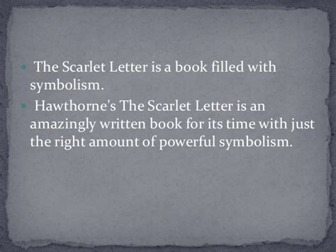 theme of redemption in the scarlet letter symbolism in quot scarlet letter quot