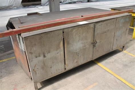 metal work bench for sale approx 8x4 metal work bench for sale machinery locator com