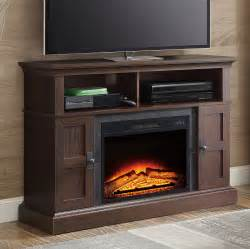 electric fireplace 55 tv stand tv stand media entertainment wood console 55 quot electric
