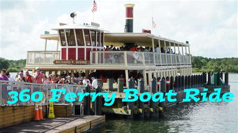 boat ride disney disney world 360 video ferry boat ride from magic