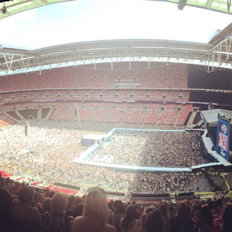 wembley stadium best seats concert view from wembley stadium block 549 row 22 seat 301