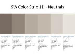 Sw color strip 11 garrett gray sw 6075 spalding gray sw 6074 perfect