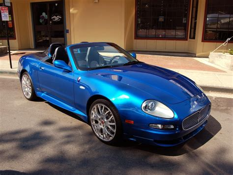 Maserati Gransport Spyder Maserati Gransport Spyder Blue By Partywave On Deviantart