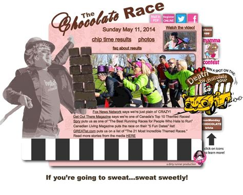 Detox St Catharines by The Chocolate Race Best Race For A Sweet Tooth Chocolate
