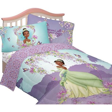 Details About Kids Disney Princess The Frog Tiana Princess And The Frog Toddler Bed Set