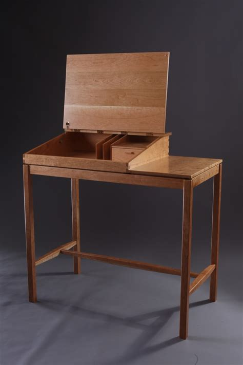 stand  writing desk finewoodworking