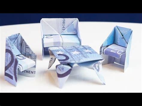 geld falten stuhl geschenk zum einzug tisch aus geld falten doovi